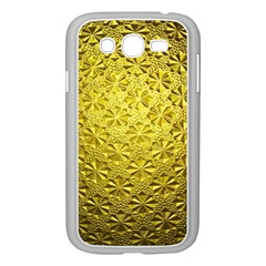 Patterns Gold Textures Samsung Galaxy Grand DUOS I9082 Case (White)