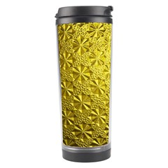 Patterns Gold Textures Travel Tumbler