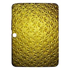 Patterns Gold Textures Samsung Galaxy Tab 3 (10.1 ) P5200 Hardshell Case