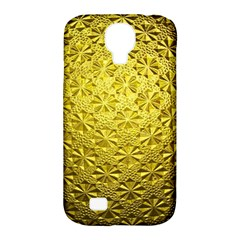 Patterns Gold Textures Samsung Galaxy S4 Classic Hardshell Case (PC+Silicone)