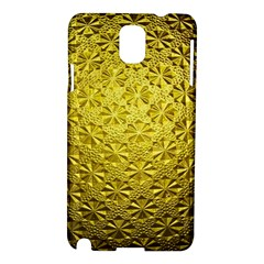 Patterns Gold Textures Samsung Galaxy Note 3 N9005 Hardshell Case