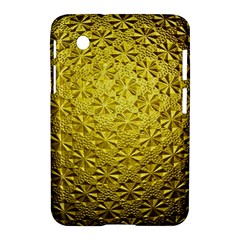 Patterns Gold Textures Samsung Galaxy Tab 2 (7 ) P3100 Hardshell Case