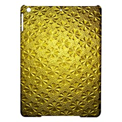 Patterns Gold Textures iPad Air Hardshell Cases