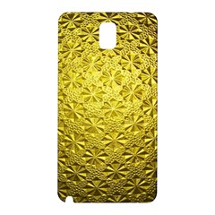 Patterns Gold Textures Samsung Galaxy Note 3 N9005 Hardshell Back Case