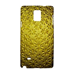 Patterns Gold Textures Samsung Galaxy Note 4 Hardshell Case