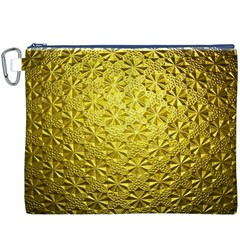 Patterns Gold Textures Canvas Cosmetic Bag (xxxl)
