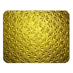 Patterns Gold Textures Double Sided Flano Blanket (Large)