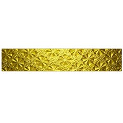 Patterns Gold Textures Flano Scarf (Large)