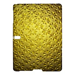 Patterns Gold Textures Samsung Galaxy Tab S (10.5 ) Hardshell Case