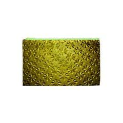 Patterns Gold Textures Cosmetic Bag (XS)