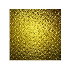 Patterns Gold Textures Small Satin Scarf (square)