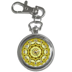 Fractal Flower Key Chain Watches