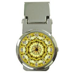 Fractal Flower Money Clip Watches
