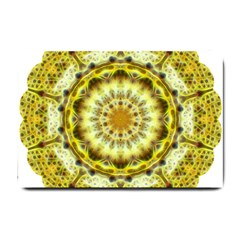 Fractal Flower Small Doormat