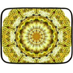 Fractal Flower Fleece Blanket (Mini)