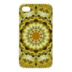 Fractal Flower Apple Iphone 4/4s Hardshell Case