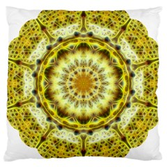 Fractal Flower Large Cushion Case (Two Sides)
