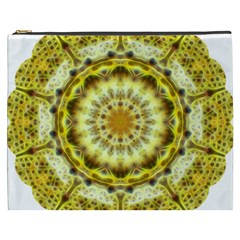 Fractal Flower Cosmetic Bag (XXXL)