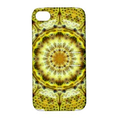 Fractal Flower Apple iPhone 4/4S Hardshell Case with Stand