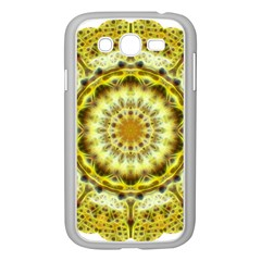 Fractal Flower Samsung Galaxy Grand Duos I9082 Case (white)