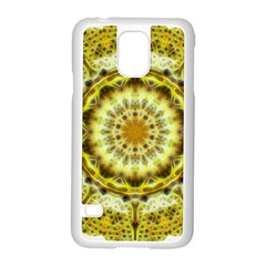 Fractal Flower Samsung Galaxy S5 Case (White)