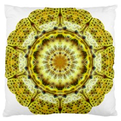 Fractal Flower Standard Flano Cushion Case (One Side)