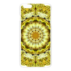Fractal Flower Apple Seamless iPhone 6 Plus/6S Plus Case (Transparent)
