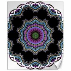 Fractal Lace Canvas 16  x 20