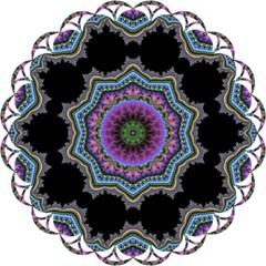 Fractal Lace Magic Photo Cubes