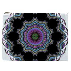 Fractal Lace Cosmetic Bag (XXL)