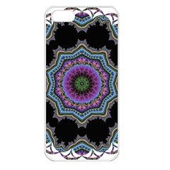 Fractal Lace Apple iPhone 5 Seamless Case (White)