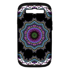 Fractal Lace Samsung Galaxy S III Hardshell Case (PC+Silicone)