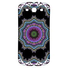 Fractal Lace Samsung Galaxy S3 S Iii Classic Hardshell Back Case