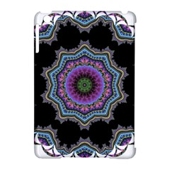 Fractal Lace Apple Ipad Mini Hardshell Case (compatible With Smart Cover)