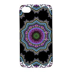 Fractal Lace Apple iPhone 4/4S Hardshell Case with Stand