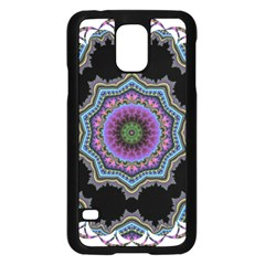 Fractal Lace Samsung Galaxy S5 Case (Black)