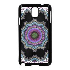 Fractal Lace Samsung Galaxy Note 3 Neo Hardshell Case (Black)