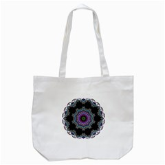 Fractal Lace Tote Bag (White)