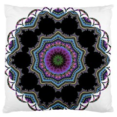 Fractal Lace Standard Flano Cushion Case (One Side)