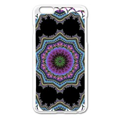 Fractal Lace Apple iPhone 6 Plus/6S Plus Enamel White Case