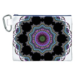 Fractal Lace Canvas Cosmetic Bag (XXL)