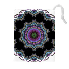 Fractal Lace Drawstring Pouches (Extra Large)