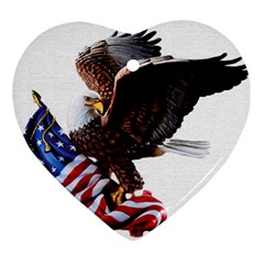Independence Day United States Ornament (heart)