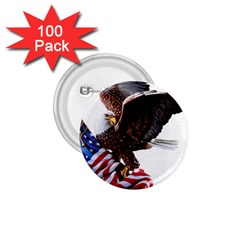Independence Day United States 1 75  Buttons (100 Pack)