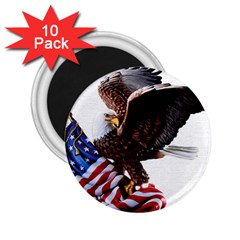 Independence Day United States 2 25  Magnets (10 Pack)