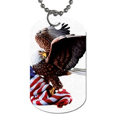 Independence Day United States Dog Tag (one Side)