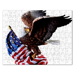 Independence Day United States Rectangular Jigsaw Puzzl