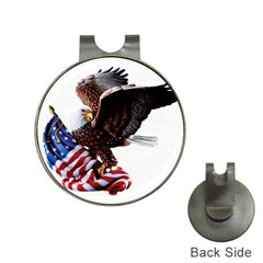 Independence Day United States Hat Clips with Golf Markers