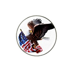 Independence Day United States Hat Clip Ball Marker (4 Pack)