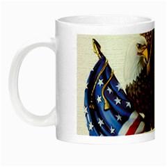 Independence Day United States Night Luminous Mugs